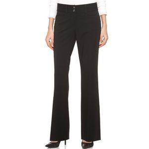 Alfani Black Curvy Fit Trousers